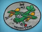 """VIETNAM WAR PATCH, US 3rd PLATOON AVIATION SECTION """" THE KING'S EYES '"""