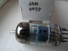6922 JAN PHILIPS ECG 6DJ8 ECC88 BLUE PRINT    NEW  OLD STOCK VALVE TUBE O13