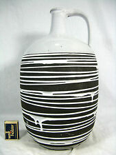 """Seltene 50´s Liesel Spornhauer Design Schloßberg Keramik Vase """" Roulette"""" 106"""