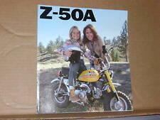 1976 Honda Z50 A MINIBIKE Motorcycle Sales Brochure - Literature