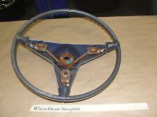 68 Cadillac Eldorado NON-TILT NON-TELESCOPIC STEERING WHEEL WITH HORN CONTACTS