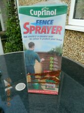 'NEW & BOXED' CUPINOL FENCE & SHED SPRAYER