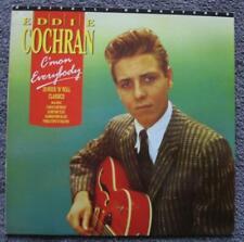 EDDIE COCHRAN -1988 - C'MON EVERYBODY - 20 CLASSICS - ORIG.UK.ALBUM - EX.COND.