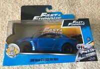 Fast & Furious 1/32 Jada Toys -  Brian's Nissan GT-R [R35] Ben Sopra - Brand New