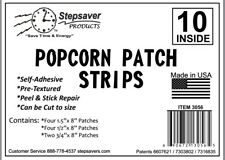 Stepsaver Products Self-Adhesive Popcorn Ceiling Repair Patch Strips USA Made