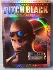 Pitch Black (Dvd, 2004, Unrated, Directors Cut, Full Frame Edition) Vin Diesel