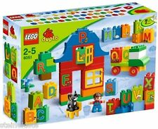 LEGO® Duplo - Buchstaben-Lernspiel-Set 6051 Play with Letters Set NEU & OVP