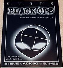 Jeff Koke & S. John Ross GURPS Black Ops (de Bolsillo) Steve Jackson Games