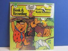 SEALED vintage FLINTSTONES READ & HEAR RECORD talking STORY BOOK peter pan 65o