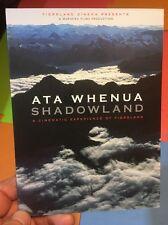 Ata Whenua:Shadowlands-Fiordland(UK DVD)Milton Doubtful Sounds New Zealand Anau
