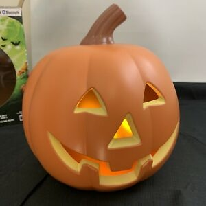 "EpicXL Halloween Dancing Flame Pumpkin Bluetooth LED Lightup Speaker Lights 8"""