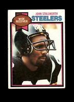 1979 Topps #450 John Stallworth Steelers Vintage Football Card ~ Mid Grade