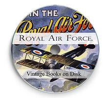 RAF Royal Air Force Vintage Books History RFC Flying Corps Naval Service DVD 241