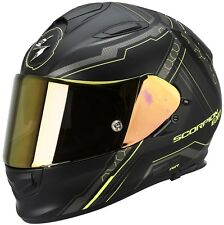 Casque de moto scorpion exo-510 air sync taille:XS couleur: jaune néon / Noir