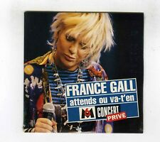 CD SINGLE PROMO (NEUF) FRANCE GALL ATTENDS OU VA T EN