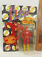 VINTAGE THE FLASH DC COMICS 1990 AUSTRALIAN RELEASE TOYBIZ ACTION FIGURE NMOC!!!