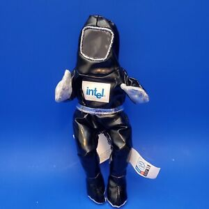1 COLLECTIBLE Intel Inside  Bunny People Black Pentium #4 8 inch With Tags