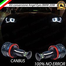 LAMPADE LED CREE H8 20W PER ANGEL EYES BMW X5 E70 CANBUS 6000K NO ERROR BIANCO