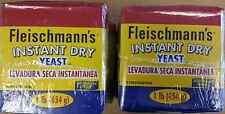FLEISCHMANN'S INSTANT DRY YEAST 2 x 1 lb