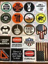 Hard Hat Stickers   20 Pack   Tools, Construction, Union, Helmet, Hilarious, fun