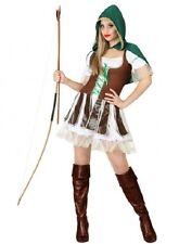 Costume Woman Robin des Bois M/L 40/42 Suit Adult Drawing Cartoon Medieval