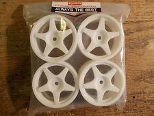 92672 Wheel Set (White) #1 - Kyosho Pure Ten TF-2 TF-3 Mantis V-One Fazer GP-10