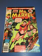 Ms. Marvel #1 Bronze age Fine- Key Wow