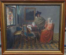 Kopie nach Vermeer, 1944, Öl/Leinen, gerahmt     (246/12002)