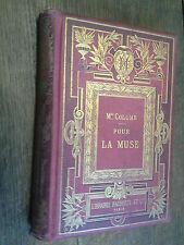Pour la Muse / Mme Colomb illustré de 106 gravures d'après Tofani