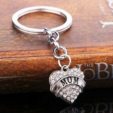 Unbranded Crystal Love & Hearts Keyrings for Women