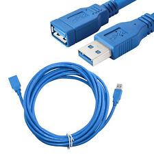 3m USB 3.0 Câble Rallonge A mâle Vers Femelle Fil Extendeur Cordon Adaptateur