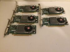 LOT OF 5 Dell ATI X399D Radeon HD3450 256MB DDR3 PCI-E Video Card High Profile