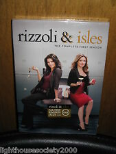 Rizzoli & Isles: The Complete First Season DVD Sealed & Unaired Scenes 2011 New