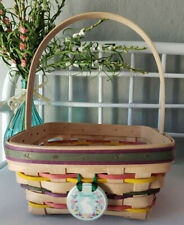 New ListingLongaberger 1998 Easter Basket With Tie-On