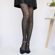 Women Girls Sexy Black Polka Dot Pantyhose Long Tights Stockings Hosiery Socks