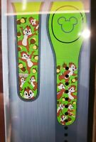 Disney CHIP & DALE Ultimate All Over Green Magic Band 2.0 Magicband Parks NEW