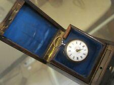 Antique French Box Pocket Watch Holder