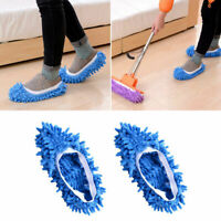1PC Lazy Dusting Cleaning Foot Cleaner Shoe Mop Slipper House Polishing Y1N7