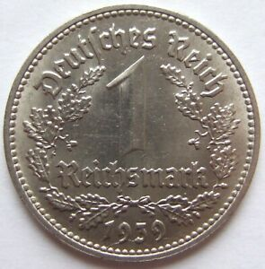 Top! 1 Mark 1939 D IN Extremely fine / Brillant uncirculated