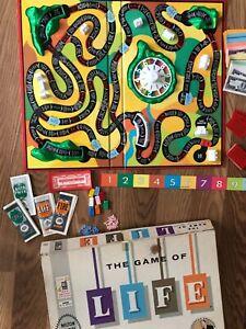 The Game of Life - Original 1960 Milton Bradley Family Board Game Art Linkletter