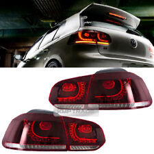 LED Tail Lights Lamp Sequential Turns For Volkswagen 2010-2014 Golf 6 MK6/GTI/R