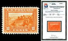 Scott 400A 1913 10c Panama-Pacific Perf 12 Issue Mint VF H Cat $175 w/ PSE CERT