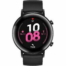 Huawei Watch GT 2 42mm Caja de Metal en Negra, Correa Deportiva en Negra, Reloj Inteligente