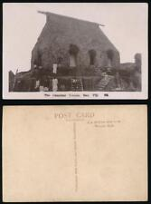 FIJI c1920 CANNIBAL TEMPLE PPC REAL PHOTO