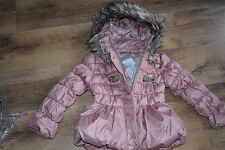 BNWT GIRL'S 5 - 6 YRS (HEIGHT 110-116 Cm) PINK GIRL'S WINTER COAT NEXT DAY POST