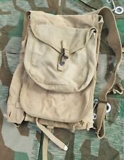More details for original ww2 us army m1928 khaki haversack backpack with meat can mess tin pouch