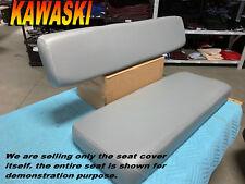 KAWASAKI MULE 2500 2510 3000 3010 NEW SEAT COVER UTV Diesel 4X4 GRAY COVERS 246A