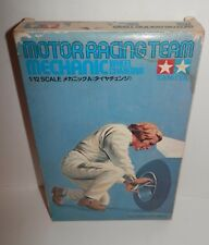 Tamiya 1:12 Motor Racing Team Mechanic - Wheel Changing #RM1202 NOS