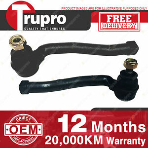 2 Pcs Premium Quality Trupro LH+RH Outer Tie Rod Ends for HOLDEN BARINA TK 05-10