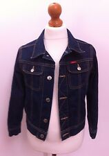 Childs Kids Diesel Bleu Denim Jean veste/manteau/haut 6 ans